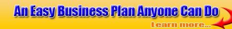 an easy business plan anyone can do